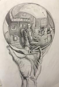 Lincoln Atnip, after Escher
